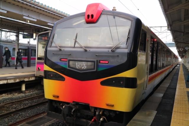 青森県を走る鉄道イメージ