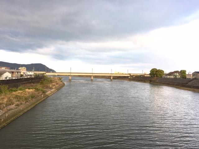 広々とした延岡の川