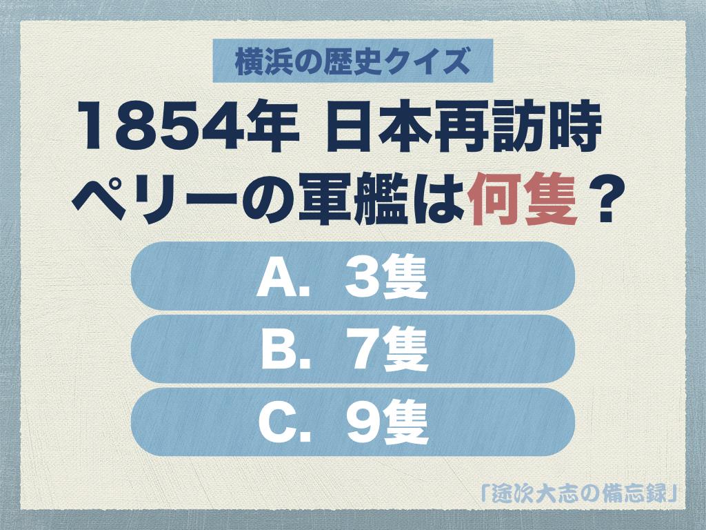 横浜の歴史クイズ