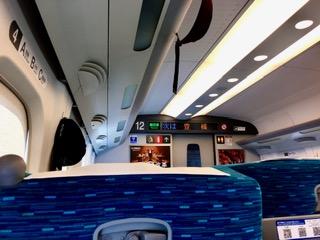 PLK-1豊橋駅車内